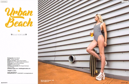 Elle Morgan Editorial for Society Magazine by Producciones Kreoidea 1