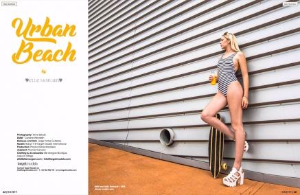 Elle Morgan Editorial for Society Magazine by Producciones Kreoidea 1